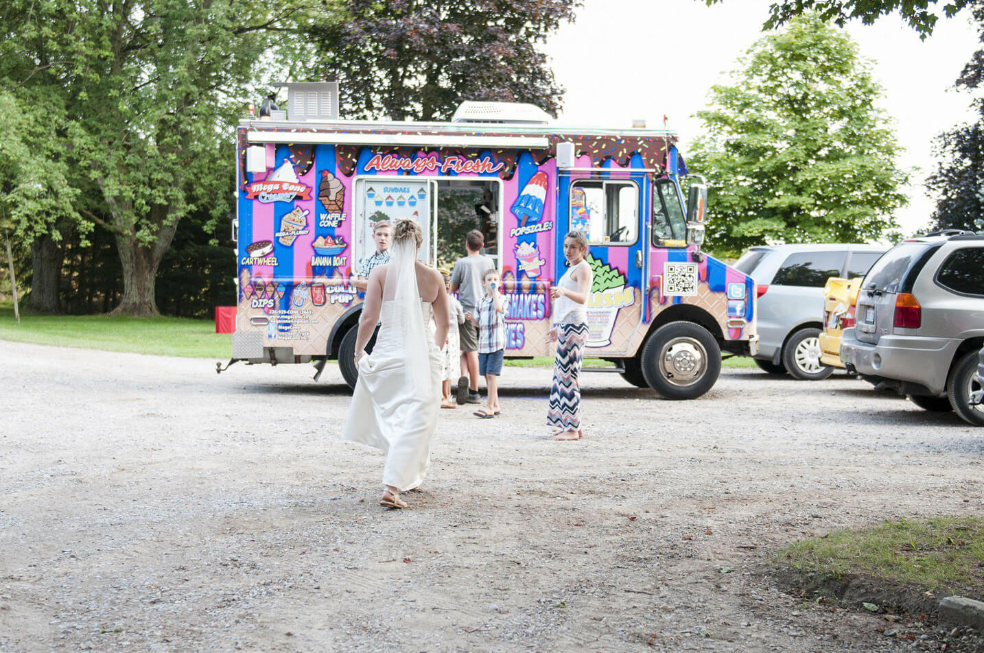 Mega Cone Creamery: Kitchener Event Catering - Rent Ice Cream Trucks